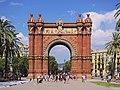 Arc de Triomf, Barcelona 2716.jpg