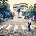 Arc de Triomphe au 14 Juillet.JPG