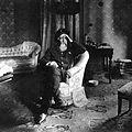 Archivo General de la Nación Argentina 1900 aprox El General Lucio V. Mansilla en su casa.jpg