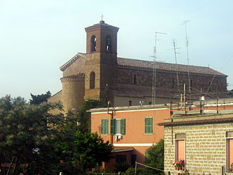 Ardea, Lazio - The church of St. Peter.