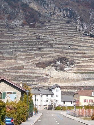 Ardon, Switzerland - Ardon village