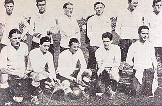 1921 South American Championship - The Argentina team that won the title.