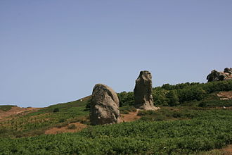"""Argimusco - One of the """"megaliths"""" in the Argimusco plateau."""