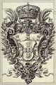 Armas Reais - Capela de São João Baptista, Igreja de São Roque (João Frederico Ludovice, 1744) (cropped).png