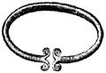 Armband, Armring af guldbleck, Nordisk familjebok.png
