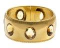 Armband av guld med topaser, 1860-tal - Hallwylska museet - 110133.tif