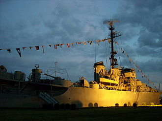 Armed Forces Academies Preparatory School - Warship museum at Armed Forces Academies Preparatory School, Thailand