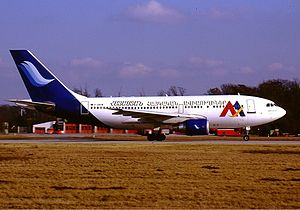 Armenian Airlines Airbus A310-222 KvW.jpg
