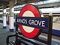 Arnos Grove stn roundel.JPG