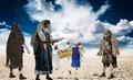 Aron şi evreii în Sinai.png
