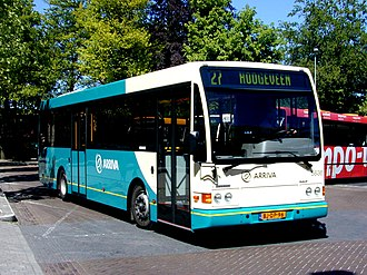DAF SB220 - Arriva Netherlands Berkhof bodied SB220 in May 2000