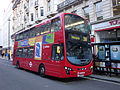Arriva London DW235 on Route 38, Piccadilly (13924426397).jpg