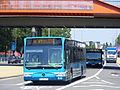Arriva North Midlands, Mercedes Citaro BJ12 YPO LOCOG Olympic games vehicle (7636962406).jpg