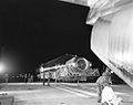 Arrival and Offloading of Missile 111D; Ranger -1 with Agena; Earth Orbital Test. Date- 05-26-1961 (21441866799).jpg