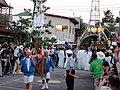 Arrived Otabisho Sacred Shinto tree, Yoshida Fire Festival.JPG