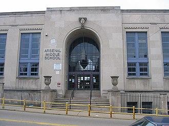 Arsenal Middle School - Image: Arsenal Junior High School