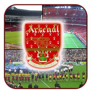 The Clock End of the Arsenal Stadium, Highbury...