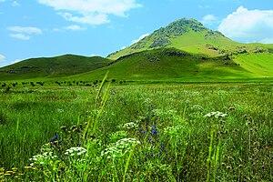 Aragatsotn Province - Arteni mountains (2047 m.)