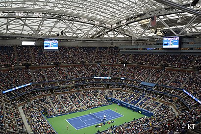 How to get to Arthur Ashe Stadium with public transit - About the place