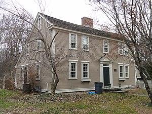 Asa Sanger House - Image: Asa Sanger House Sherborn, Massachusetts DSC02976