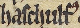 Ascall mac Ragnaill (British Library Royal MS 13 B VIII, folio 46v).jpg
