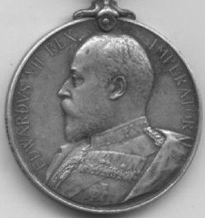 Africa General Service Medal - Image: Ashanti Medal obv