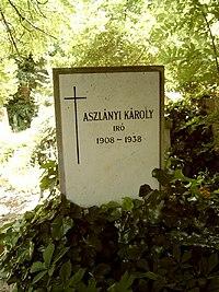 Aszlányi Károly sírja.jpg