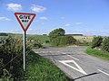 At the crossroads near Stouslie Covert - geograph.org.uk - 235781.jpg
