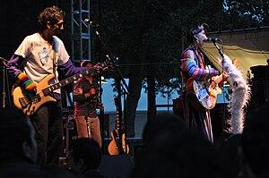 Aterciopelados - Aterciopelados play at Bumbershoot, Seattle Center, Seattle, Washington.