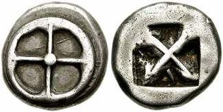 Athens 545-510 BC Didrachm
