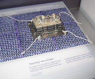 Microscope - Image: Atomic Force Microscope Science Museum London