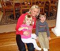 Au pair with two children, Heidenheim, 2013.jpg