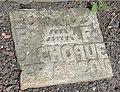 Auberchicourt - Cimetière de l'église Notre-Dame-de-la-Visitation, tombe de la famille Choque (05).JPG