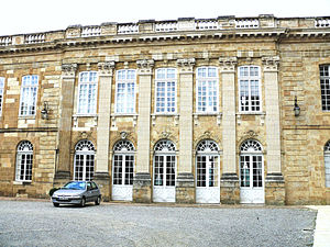 Gers - Prefecture building of the Gers department, in Auch
