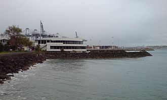 Auckland Marine Rescue Centre - The centre at the eastern end of the Waitematā Harbour