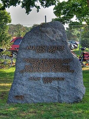 August Euler - Memorial at August-Euler airport