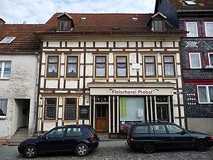 Bleicherode - Image: August Petermann Geburtshaus Bleicherode