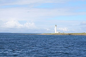 Auskerry - Auskerry lighthouse