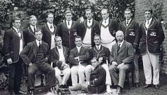 Sydney Middleton - Image: Aust Olympic VIII 1912