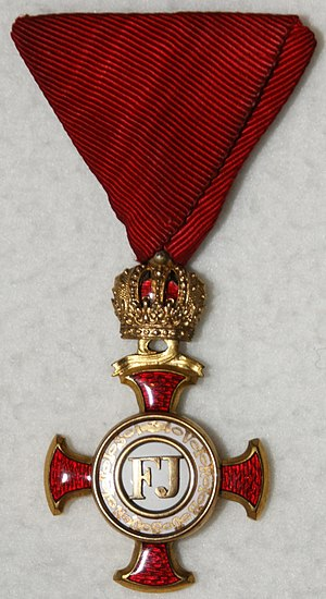 Orders, decorations, and medals of Austria-Hungary - Gold Cross of Merit