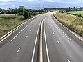 Autoroute A406 vue depuis Pont Route D933 Crottet 4.jpg