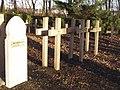 Auvelais Cimetiere Francais croix 1914 1940 Belgium 20070101 (12) Didier Misson.JPG