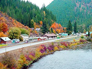 Avery, Idaho - Avery in the fall