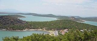 Ayvalık Town in Aegean Region, Turkey