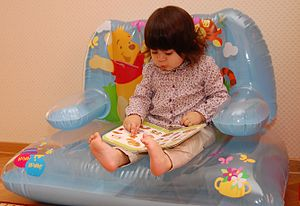 Reading is an important means through which children develop their  vocabulary.