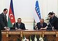 Azerbaijan-Uzbekistan documents signed, 2010 01.jpg