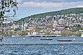 Bürkliplatz - Quaibrücke - Utoquai - Hochschulen - Zürichsee in Zürich - Wollishofen 2015-05-06 14-36-56.JPG