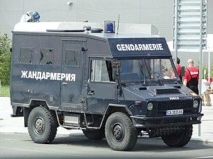 Gendarmerie (Bulgaria) - Bulgaria Gendarmerie Iveco VM90 APC