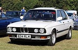 BMW E28, Baujahr 1985