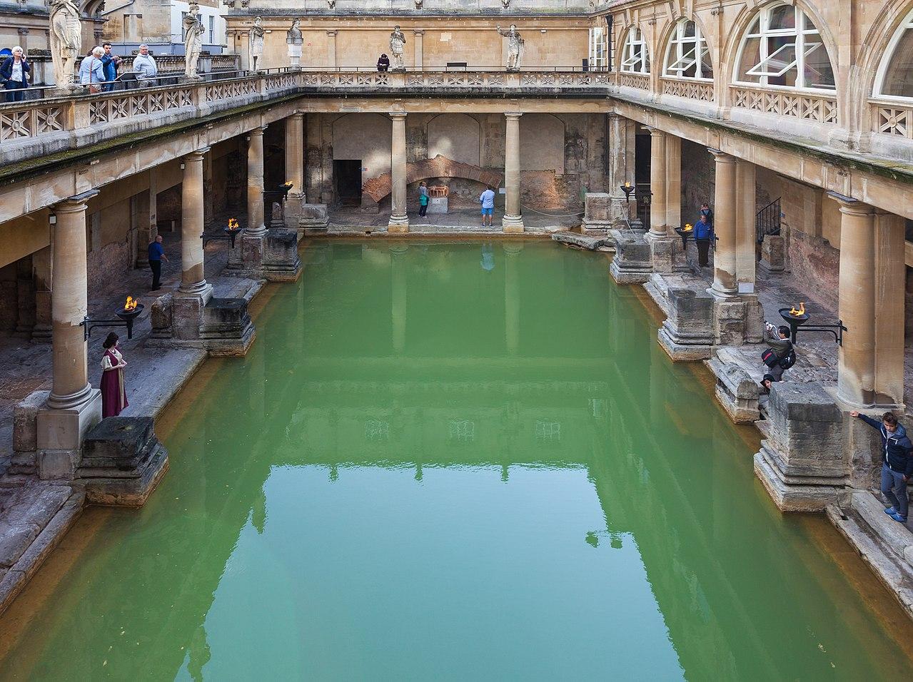 Baños Romanos De Bath:Fichier d'origine  (4 558 × 3 406 pixels, taille du fichier : 8,21